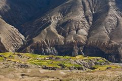 Mountain landscape in Upper Dolpo, Nepal Royalty Free Stock Photos