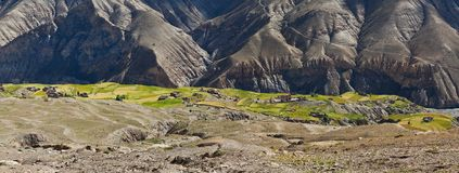 Mountain landscape in Upper Dolpo, Nepal Stock Photos