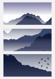 Mountain landscape. Royalty Free Stock Photos