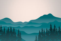 Mountain  landscape. Royalty Free Stock Photography
