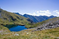 Mountain landscape VIII Royalty Free Stock Images