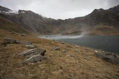 Windy Mountain landscape Royalty Free Stock Image