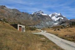Mountain landscape in Zermatt Stock Images
