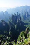Mountain landscape of zhangjiajie Royalty Free Stock Image