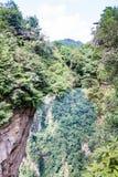 Mountain landscape of zhangjiajie national park, china Stock Photo