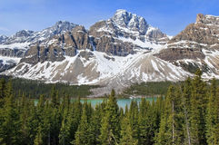 Mountain landscapes. Most beautiful landscapes in Banff National Park, Alberta, Canada Stock Images