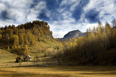 Mountain Landscapes Royalty Free Stock Photo