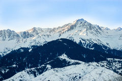 The mountain landscapes Stock Images