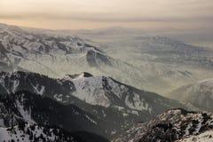 The mountain landscapes Stock Photos