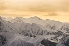 The mountain landscapes Royalty Free Stock Images