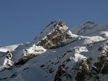 Mountain in Langtang Stock Image