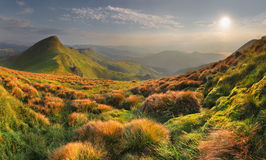 Mountain lanscape Stock Images