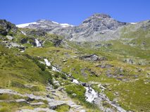 Mountain lanscape in France Stock Photography