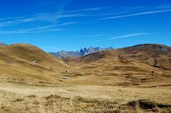 Mountain lanscape, plateau de Paris, French Alps Stock Photo