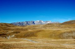 Mountain lanscape, plateau de Paris, French Alps Stock Photography