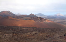 Mountain on Lanzarote Royalty Free Stock Photo