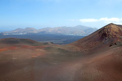 Mountain on Lanzarote, Canarian island Spain Royalty Free Stock Image