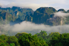 Mountain in Laos Stock Photo