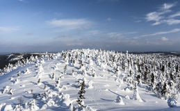 Mountain in Lapland Royalty Free Stock Photography