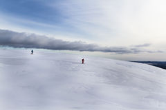 Mountain in Lapland. At winter day Stock Photos