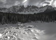 Mountain Latemar, Dolomiti Stock Photo