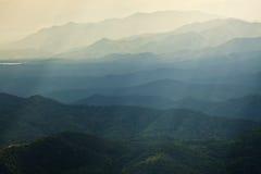 Mountain layer. In Chianf Mai Thailand Royalty Free Stock Photos