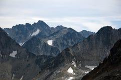 Mountain layers, Pemberton, British Columbia Royalty Free Stock Image