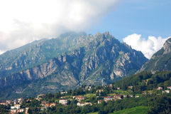 Mountain in Lecco, Italy Royalty Free Stock Images