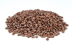 Mountain-lentils, isolated. On white background Stock Images