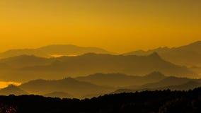 Mountain leyer level in thailand Stock Photo