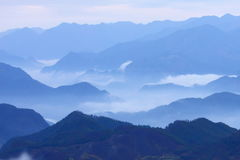 Mountain in Li-Shui Royalty Free Stock Photo