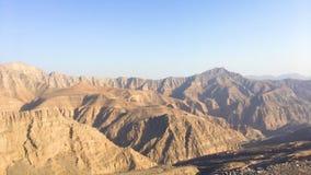 Mountain life. Ras al Khama jais mountain Royalty Free Stock Photos