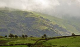 Mountain light, Cumbria royalty free stock images