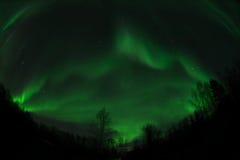 Mountain like aurora Royalty Free Stock Photography