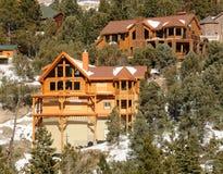 Mountain lodge Royalty Free Stock Image