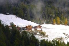 Mountain Lodge Stock Photos