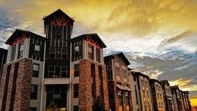 Mountain lofts rexburg housing Royalty Free Stock Photos