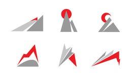 Mountain logo Stock Image