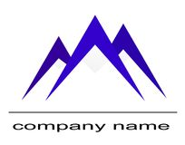 Mountain logo Stock Image
