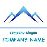 Mountain logo for company Stock Photos