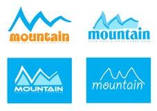 Mountain logo concept Stock Image