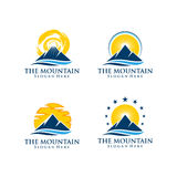 Mountain logo. Suitable for any business company Royalty Free Stock Image
