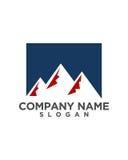 Mountain Logo Template Vector Royalty Free Stock Image