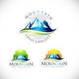 Mountain Logo Vector Stock Photography