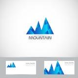 Mountain logo Stock Photo