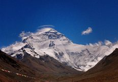 Mountain. Looking at mount everest Stock Images