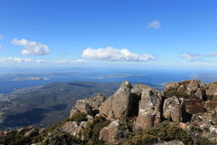 Mountain Lookout from Mount Wellington Hobart Royalty Free Stock Images