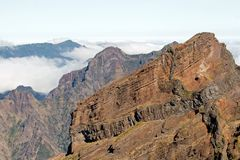 Mountain of Madeira Stock Images