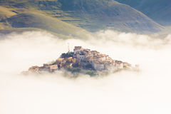 Mountain magic village Royalty Free Stock Image