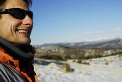 Mountain man. Royalty Free Stock Photos